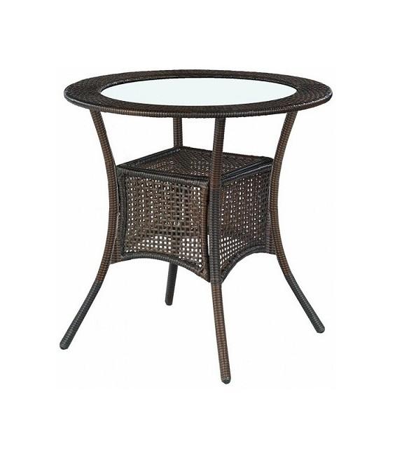 BRW MIDAS Stôl ratanový záhradný