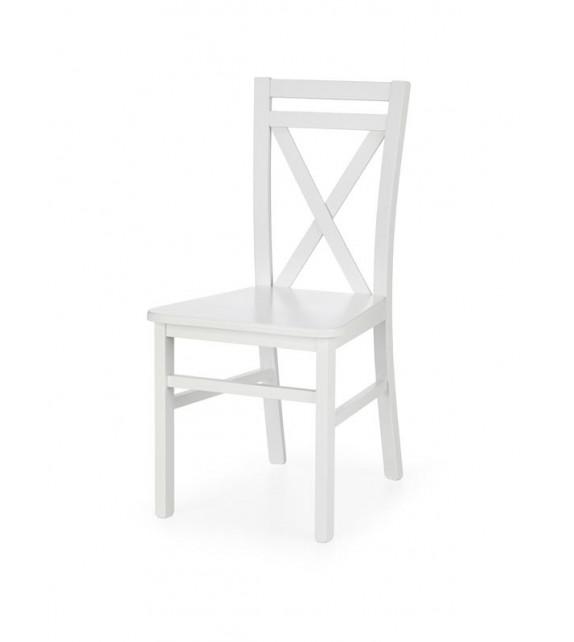 BRW DARIUSZ II Jedálenská stolička biela