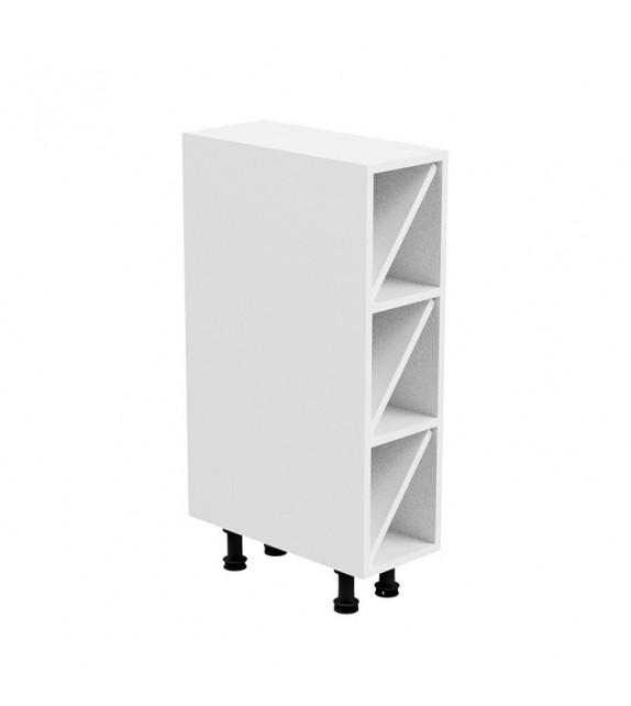 TK AURORA D20W konyhai alsó nyitott bortartó szekrény