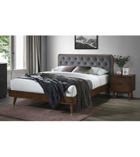 BRW CASSIDY 160 Manželská posteľ bez úložného priestoru