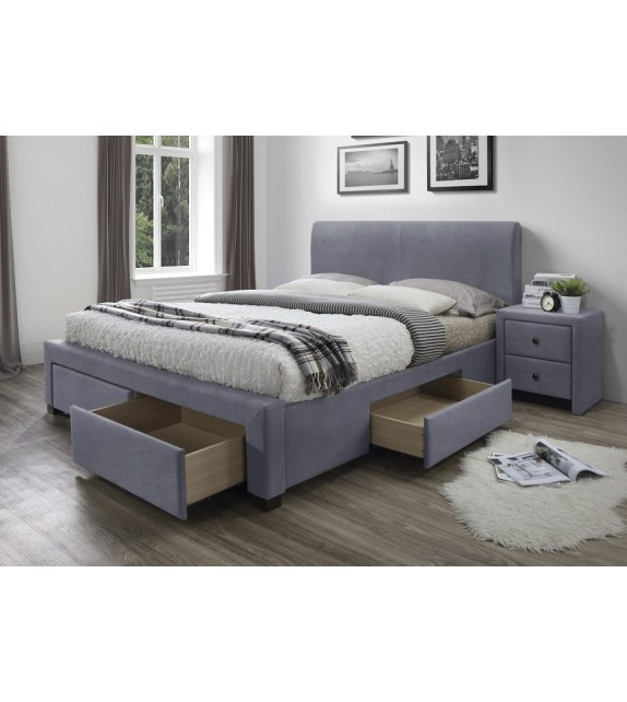 BRW MODENA 160 Manželská posteľ so zásuvkami