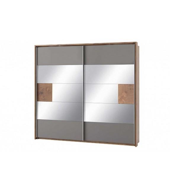 WIP LIVORNO 73 Skriňa vešiaková so zrkadlom sektorový nábytok do spálne