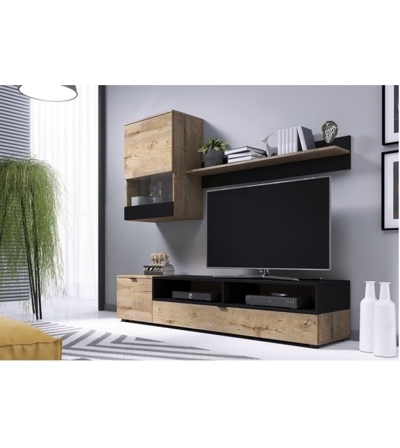 BRW SNAP obývacia TV stena