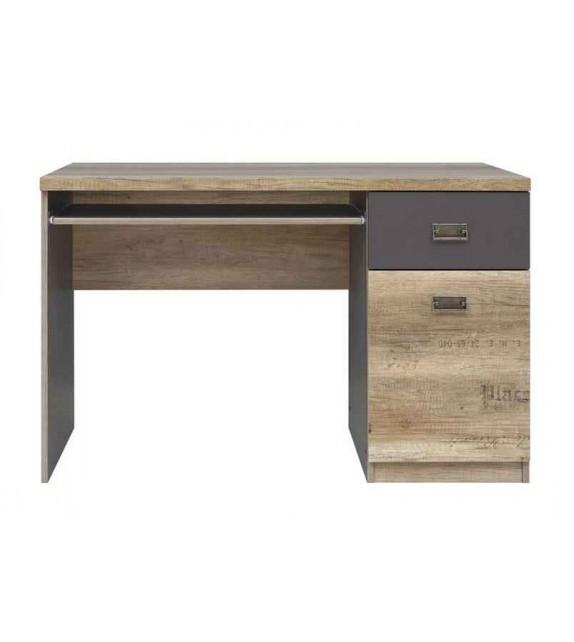 BRW MALCOLM-BIU1D1S písací stôl