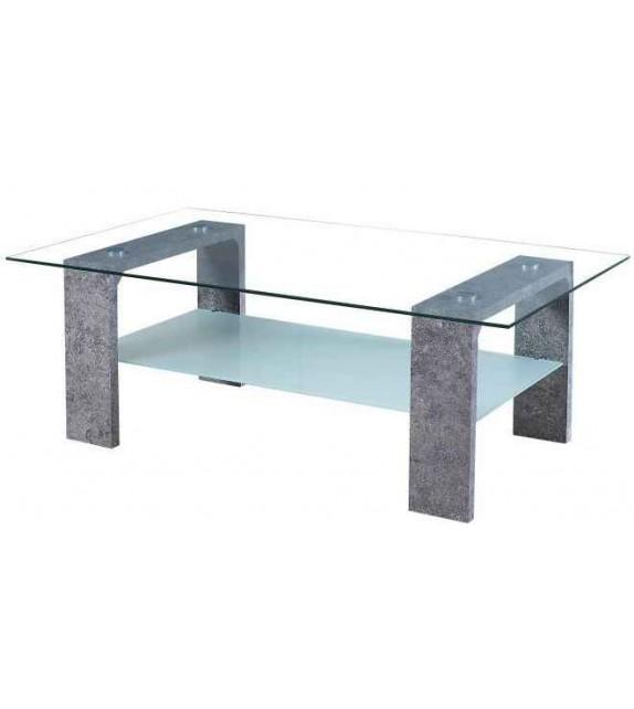 TK BELTON konferenčný stolík sklenený