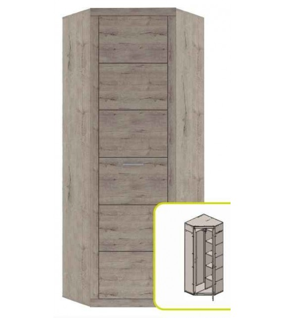 TK ORESTES skriňa rohová kombinovaná sektorový nábytok