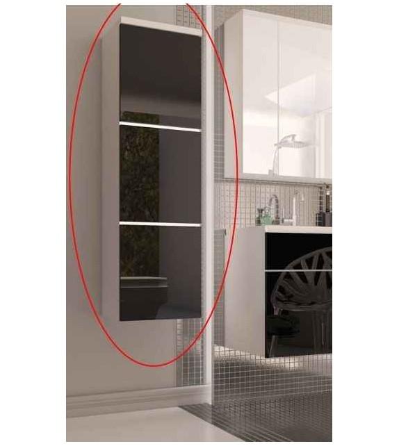 TK MASON BL11 skrinka vysoká závesná kúpeľňový sektorový nábytok Lesk