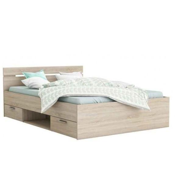 TK MICHIGAN postel so zásuvkami 140