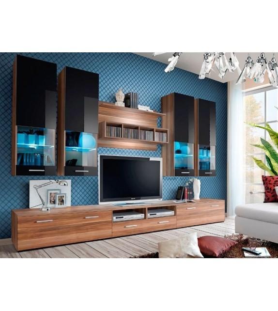 WIP DORADE NS Obývacia stena s LED osvetlením