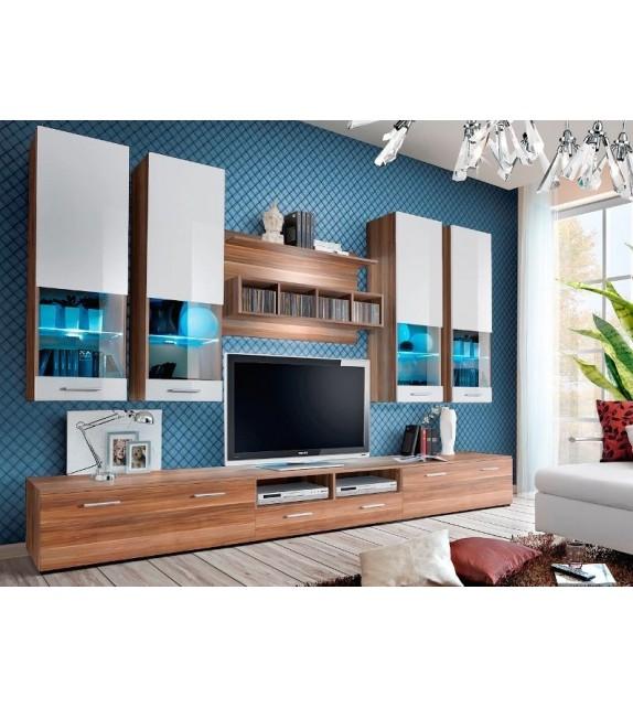 WIP DORADE NW Obývacia stena s LED osvetlením