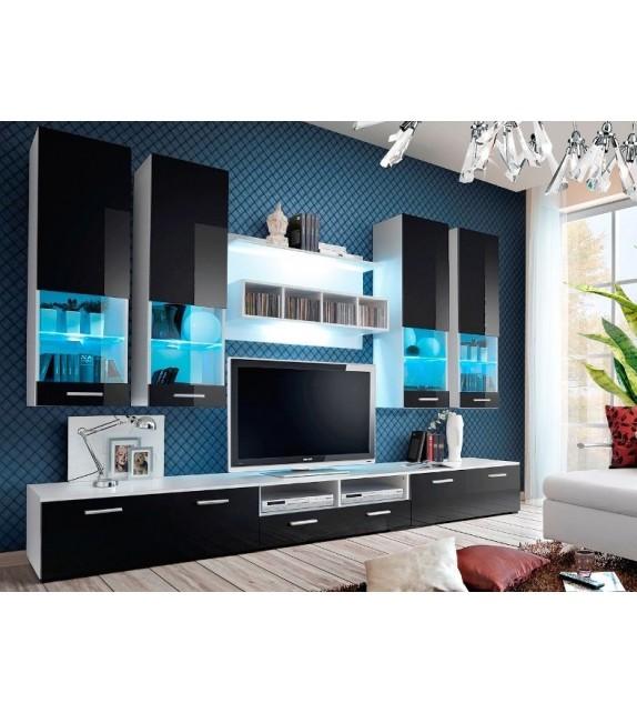 WIP DORADE WS Obývacia stena s LED osvetlením