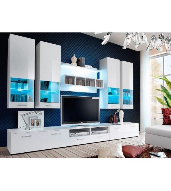 WIP DORADE WW Obývacia stena s LED osvetlením