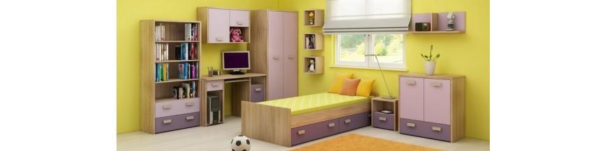 WIP KITTY Detská izba sektorová