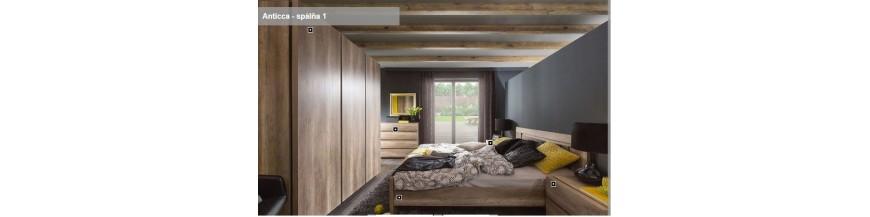 BRW ANTICCA obývací sektorový nábytok