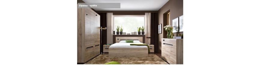 BRW ELPASSO spálňový sektorový nábytok
