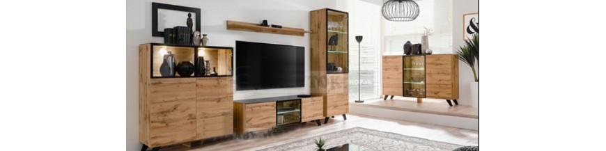 WIP THIN obývací sektorový nábytok s LED osvetlením