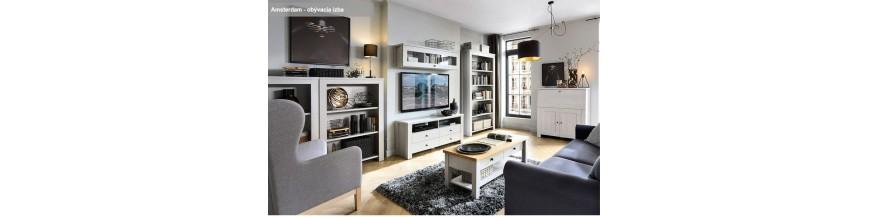 BRW AMSTERDAM sektorový nábytok