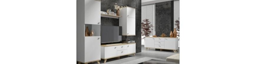 BRW MILAN sektorový nábytok do obývačky