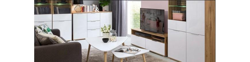 BRW ZELE sektorový nábytok do obývačky