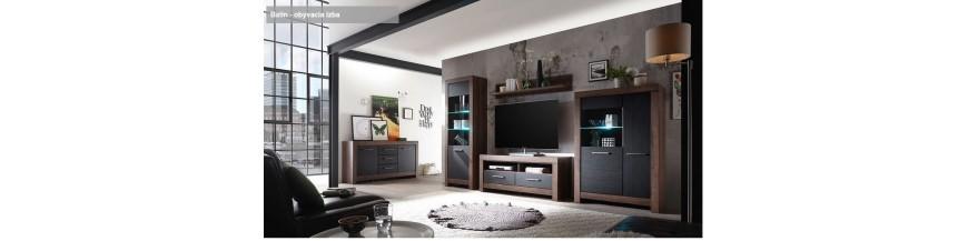 BRW BALIN sektorový nábytok do obývačky