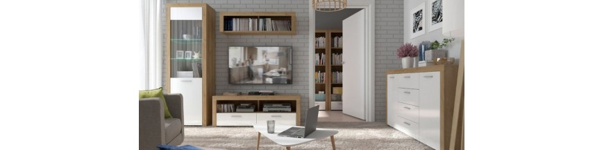 BRW BALDER sektorový nábytok do obývačky