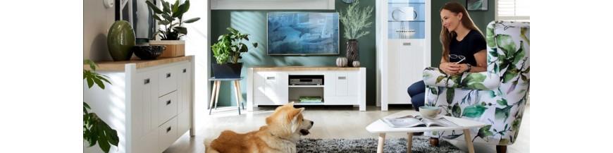 BRW DREVISO sektorový nábytok do obývačky