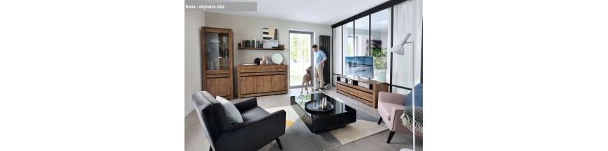 BRW KADA Obývací sektorový nábytok