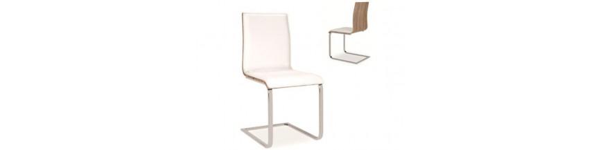 Stoličky kovové