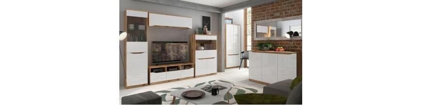 BRW NUIS sektorový nábytok do obývačky