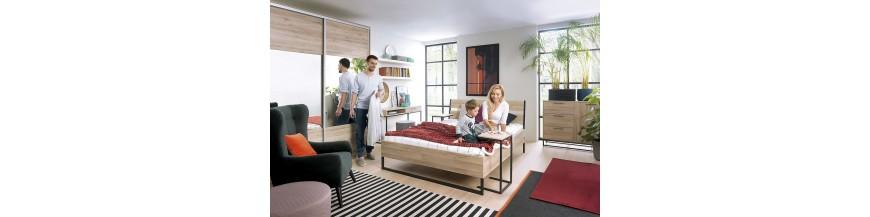 BRW GAMLA Spálňový sektorový nábytok