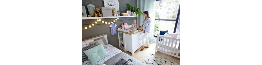 BRW DREVISO BABY sektorový nábytok pre najmenších