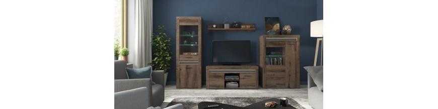 BRW BAYLAR obývací sektorový nábytok