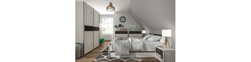 BRW SALINS Spálňový sektorový nábytok