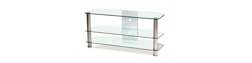 TV stolíky- sklenené