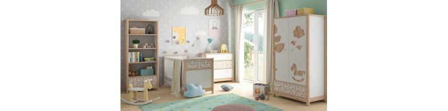 BRW TIMON Detský sektorový nábytok pre najmenších