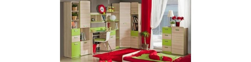Detský sektorový nábytok