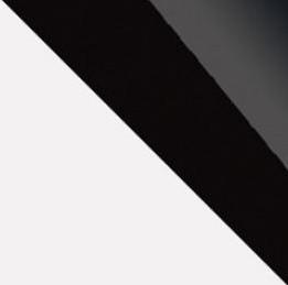 biela/čierna