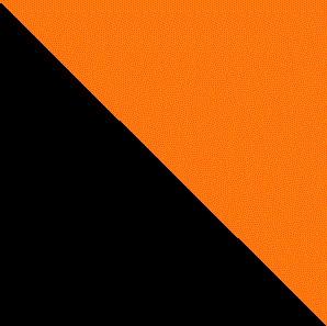 čierna/oranžová
