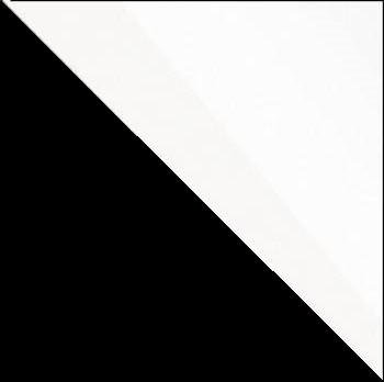čierna/biely lesk