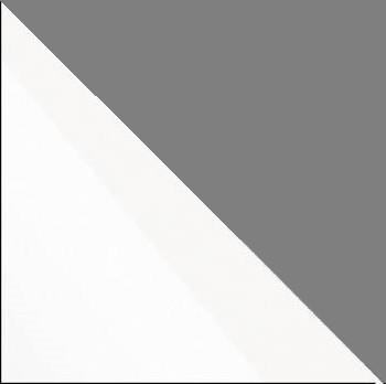 biely lesk/grafit mat